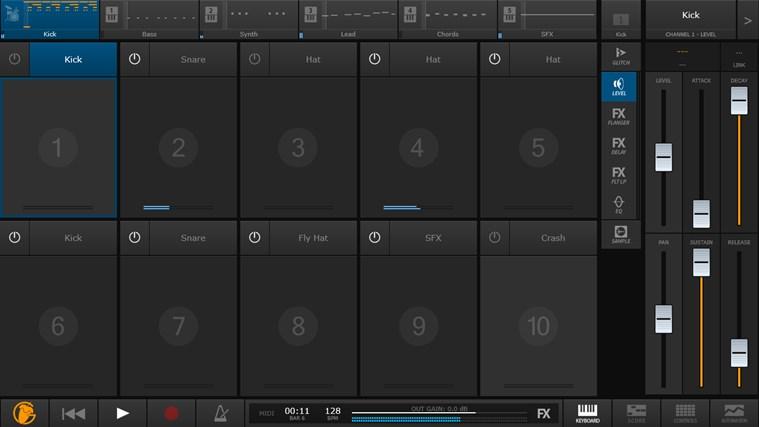 FL Studio Groove schermafbeelding 4