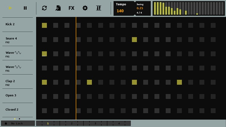 Sequencer screen shot 0