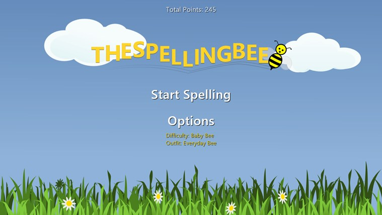 The Spelling Bee screen shot 0