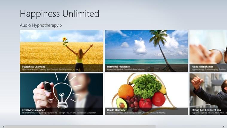 Happiness Unlimited full screenshot