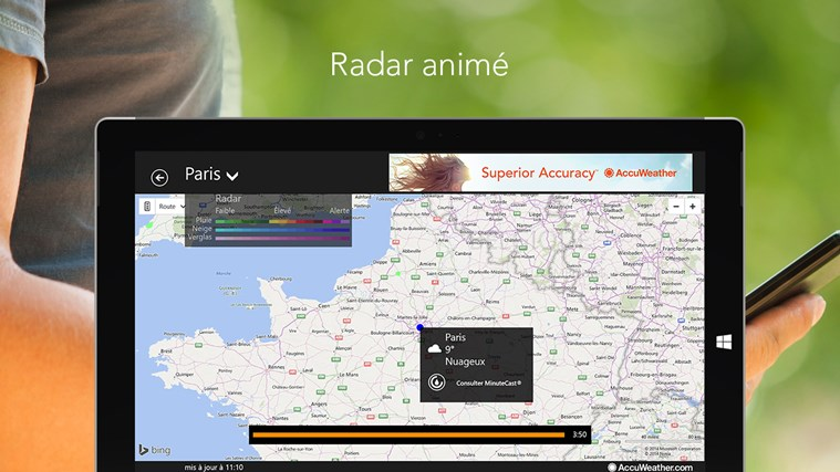 AccuWeather for Windows 8 capture d'écran 4