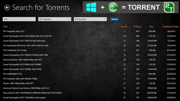 Torrent RT FREE screen shot 4