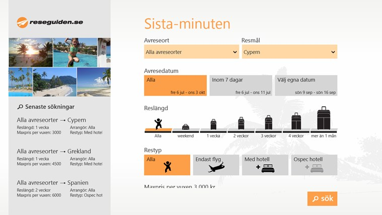 Sista-minuten screen shot 0