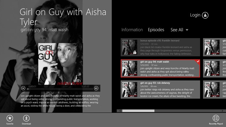 Girl on Guy with Aisha Tyler Screenshot 0