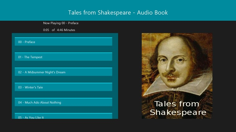 Tales from Shakespeare - Audio Book screen shot 0