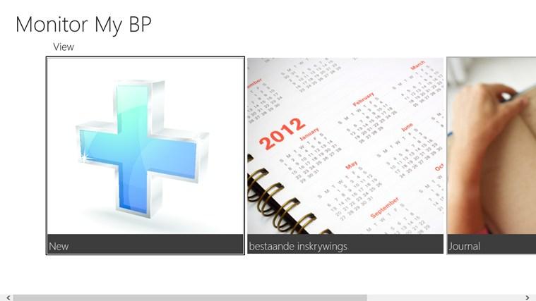 Monitor My BP snímek obrazovky 0