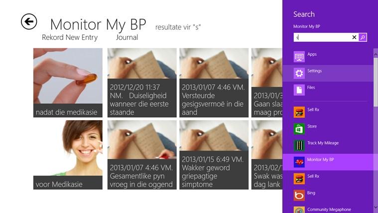 Monitor My BP snímek obrazovky 4