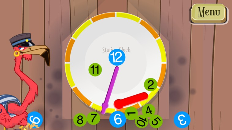 Learn to Tell Time screen shot 2