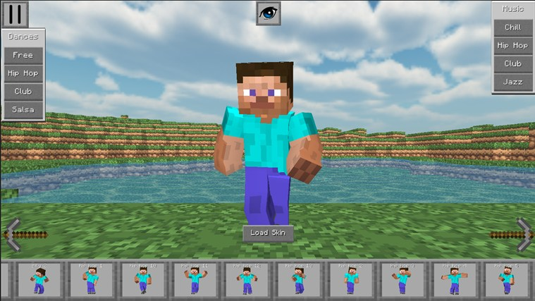 MineDance 3D - Skin Viewer for MineCraft Dance Edition for Windows 10 ...: official-download.net/windows8apps/minedance-3d-skin-viewer-for...