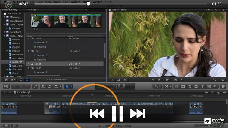 Final Cut Pro X 104 - Advanced Editing Techniques captura de pantalla 4