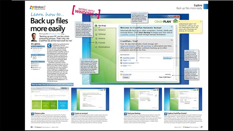Windows 7 Help & Advice captura de ecrã 0