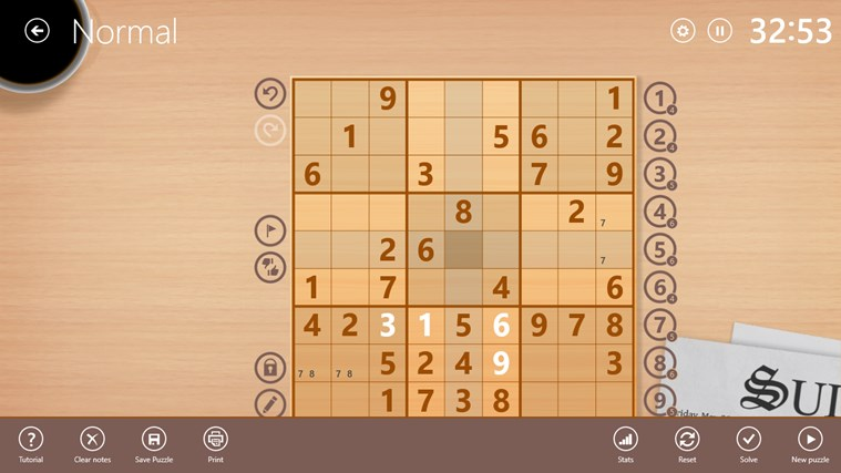 Sudoku Free screen shot 4
