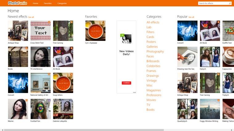 PhotoFunia schermafbeelding 0