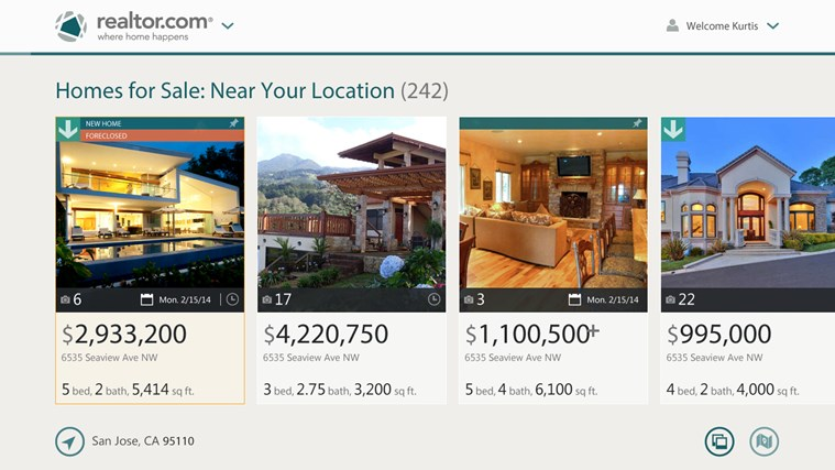 Real Estate Search by Realtor.com® screen shot 2