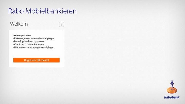 Rabo Bankieren schermafbeelding 4