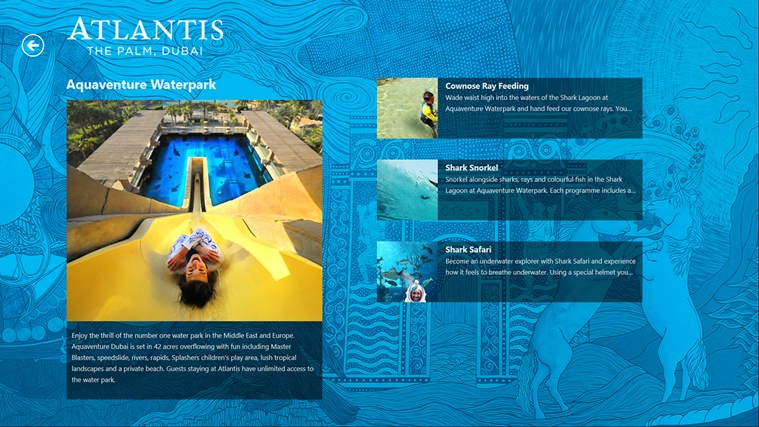 Atlantis The Palm screen shot 4