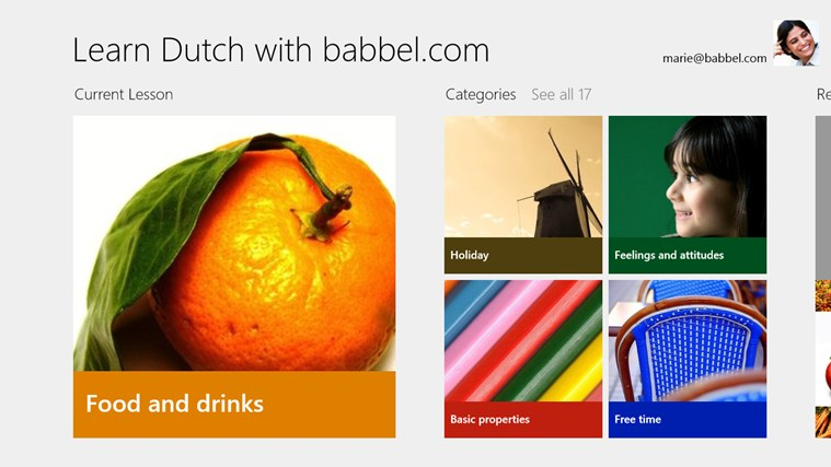 Learn Dutch with babbel.com screen shot 0