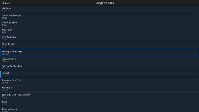 GuitarTapp Pro schermafbeelding 2