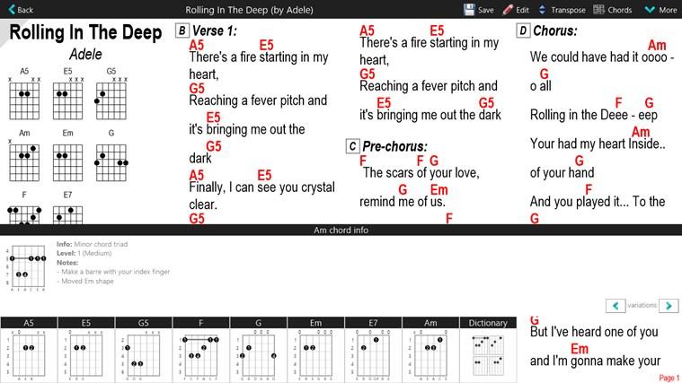 GuitarTapp Pro schermafbeelding 4
