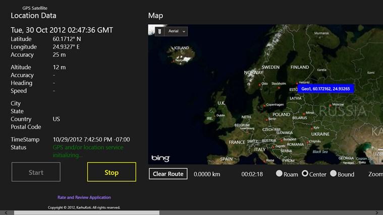 GPS Satellite screen shot 0