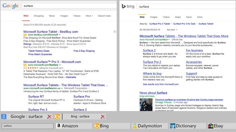 Pan-Search screen shot 2