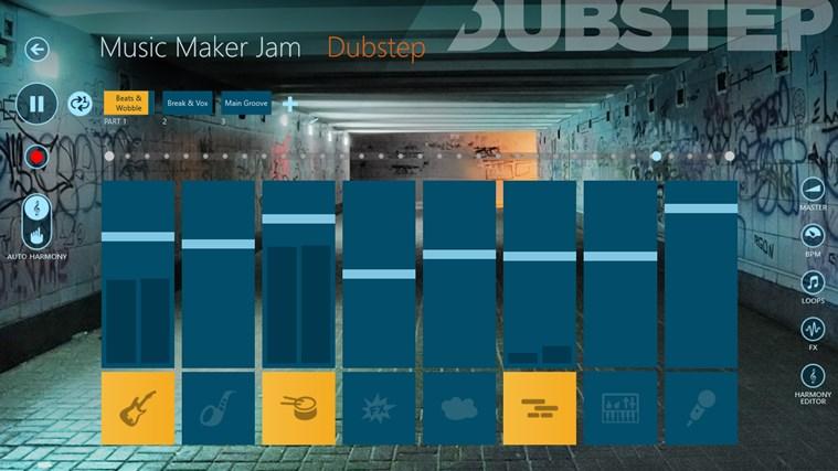 Music Maker Jam skjermbilde 0