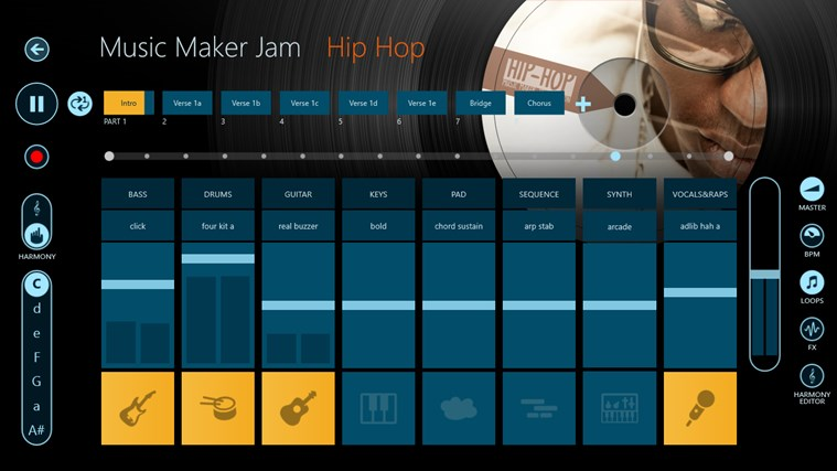 Music Maker Jam skjermbilde 2