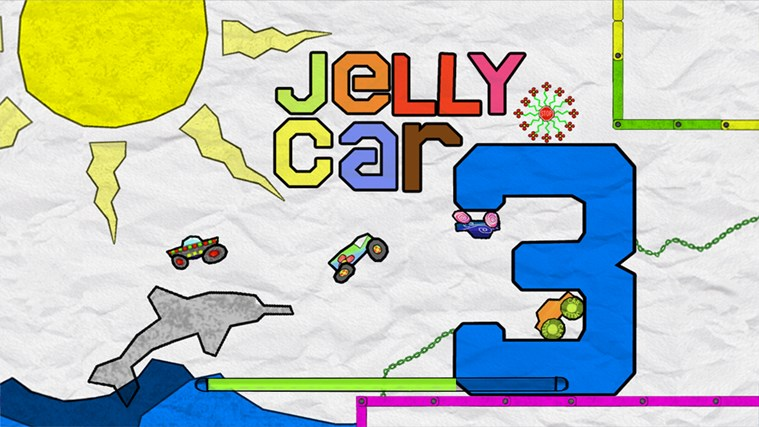 JellyCar 3 screen shot 0