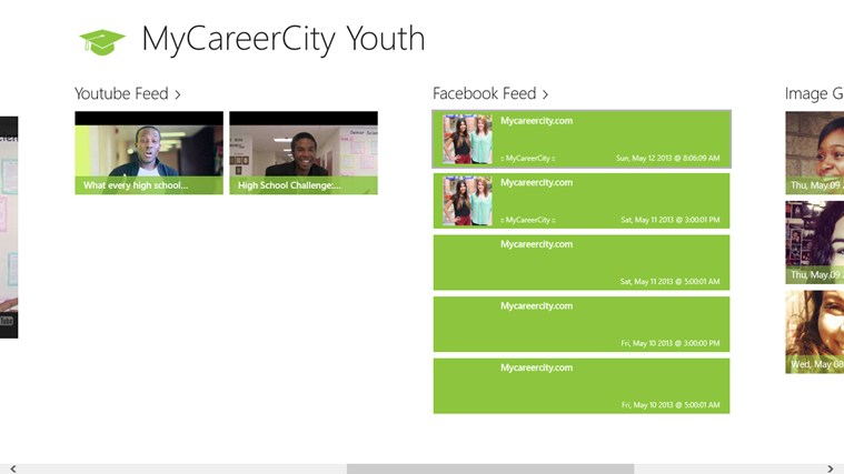 MyCareerCity Youth screen shot 2