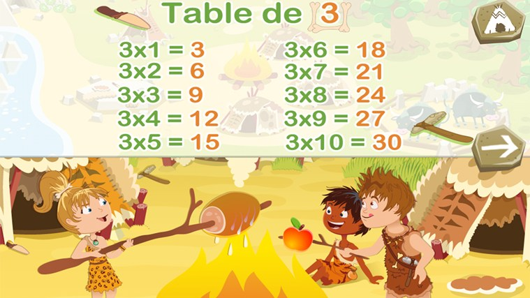 Révise tes tables de multiplication capture d'écran 0