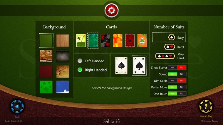 Spider Solitaire HD screen shot 2