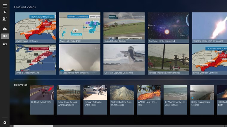 The Weather Channel screen shot 4