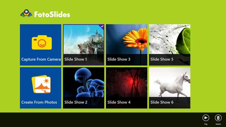 FotoSlides captura de tela 0