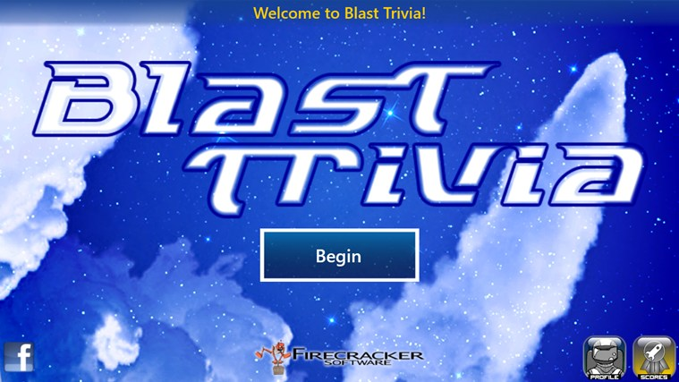 Blast Trivia Windows 8 Game