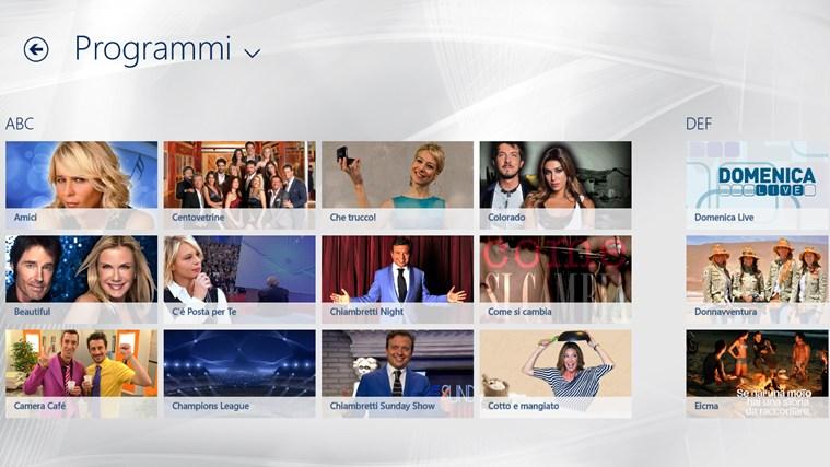 VideoMediaset cattura di schermata 2