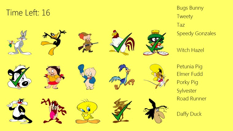 Baby Looney Tunes Names