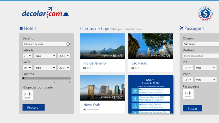 Decolar.com captura de tela 0