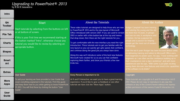 Upgrade to PowerPoint 2013 Tutorials screen shot 0