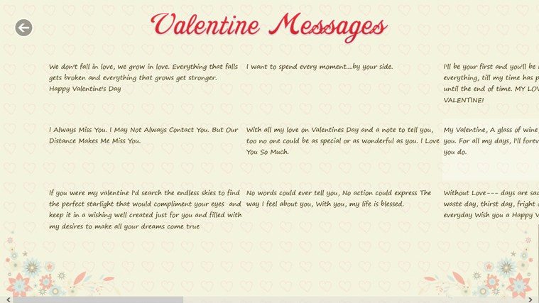 Valentine's Greetings screen shot 4