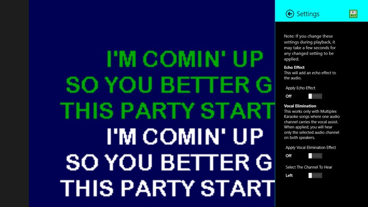 Karaoke Player screenshot 2