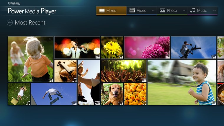 CyberLink Power Media Player petikan skrin 0