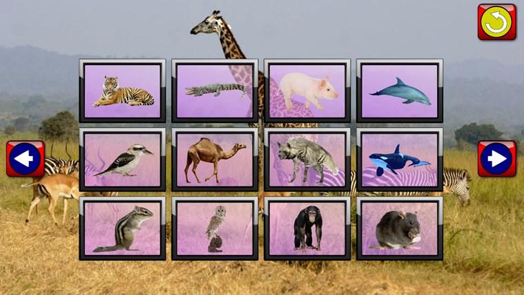 Quebra-cabeças de crianças Animal - jogo educacional jovens ensina formas e correspondência apropriada para criança e pré escola meninos e meninas 3 + captura de ecrã 2