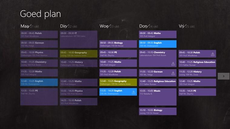 Goed plan schermafbeelding 0
