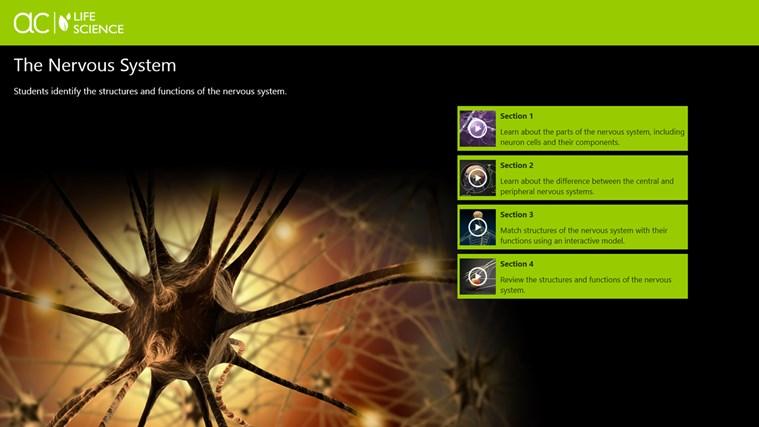 AC Life Science: The Nervous System snímek obrazovky 0