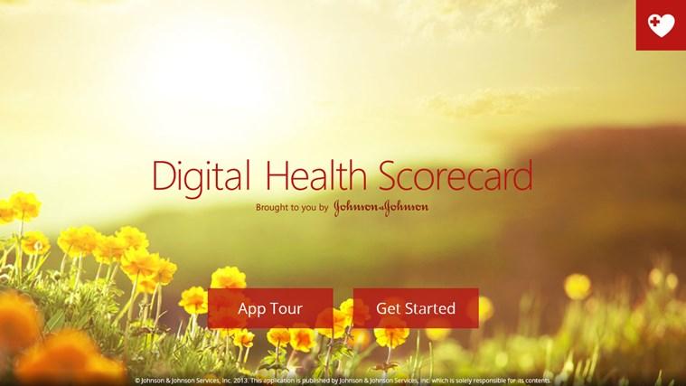Digital Health Scorecard screen shot 0