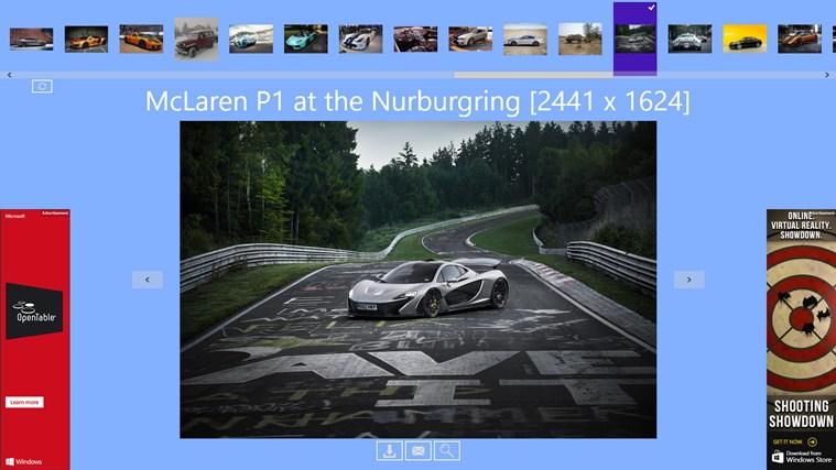 Car Wallpapers Backgrounds HD! App Voor Windows In De