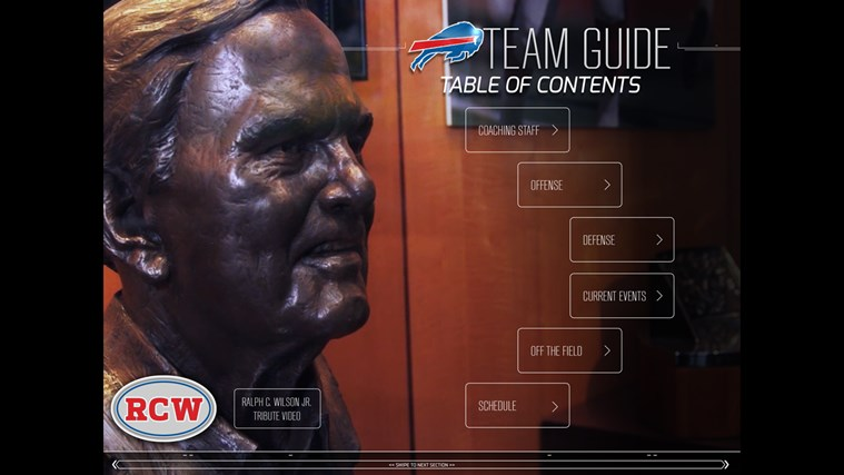 Buffalo Bills Touch screen shot 6