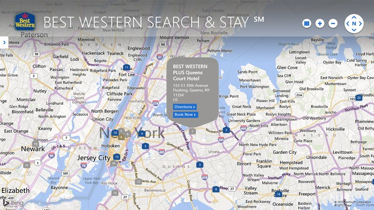 BEST WESTERN SEARCH & STAY ℠ screen shot 2