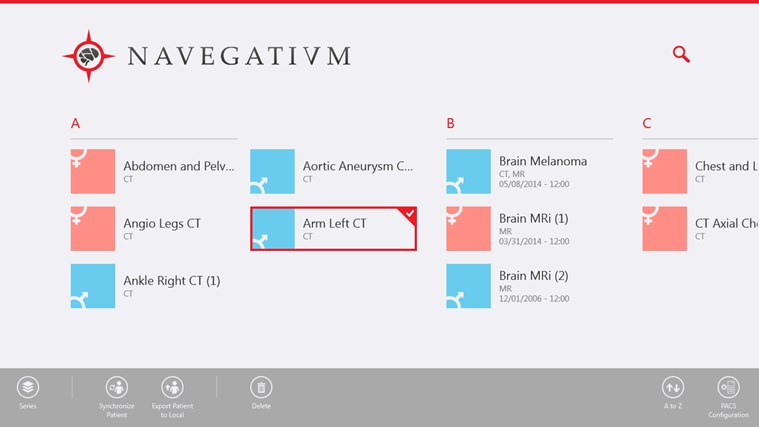Navegatium screen shot 2