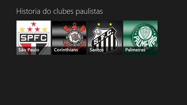 Historia dos principais clubes paulistas screen shot 0